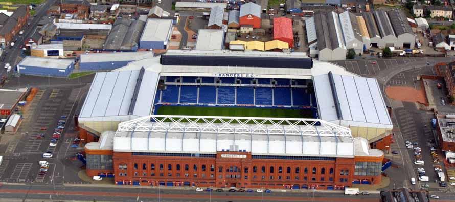 Ibrox Stadium obecnie