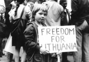 Litwa głośno domagała się wolności