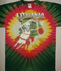 Słynne koszulki reprezentacji Litwy