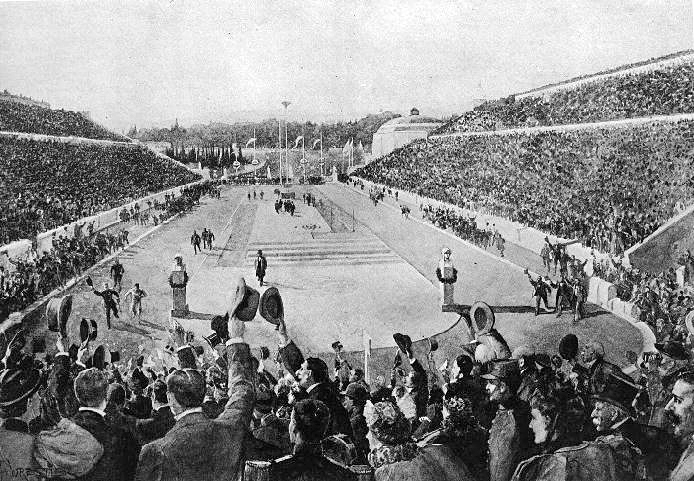 Ateny 1896: Arena zmagań IIgrzysk Olimpijskich