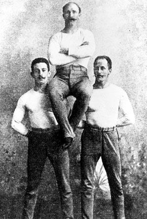 Ateny 1896: Niemieccy gimnastycy