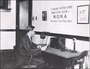 """KDKA Radio jako pierwsze nadało sportową audycję """"na żywo"""""""