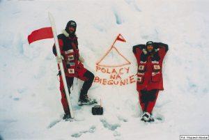 Marek Kamiński i Wojciech Moskal 1995