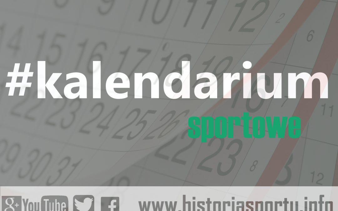Kalendarium sportowe (4 lipca – 10 lipca)