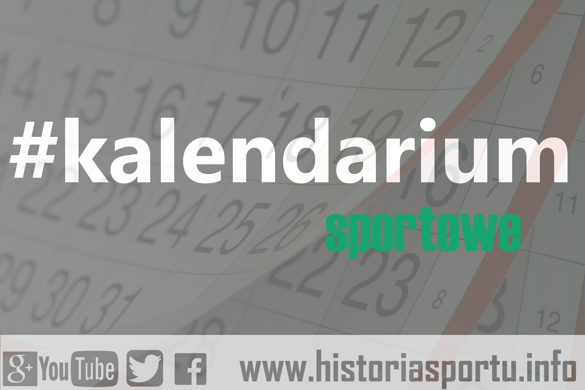 Kalendarium sportowe