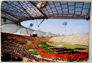 Stadion Olimpijski w Monachium w 1972 roku