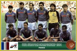 Francja - zwycięzcy Euro 1984