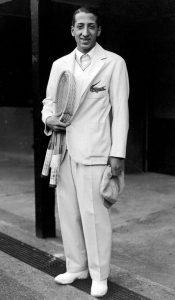 René Lacoste - założyciel firmy odzieżowej itenisista