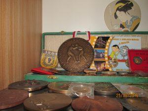 Marian Kasprzyk - część zkolekcji medali