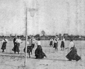 Koszykarki - początek XX wieku