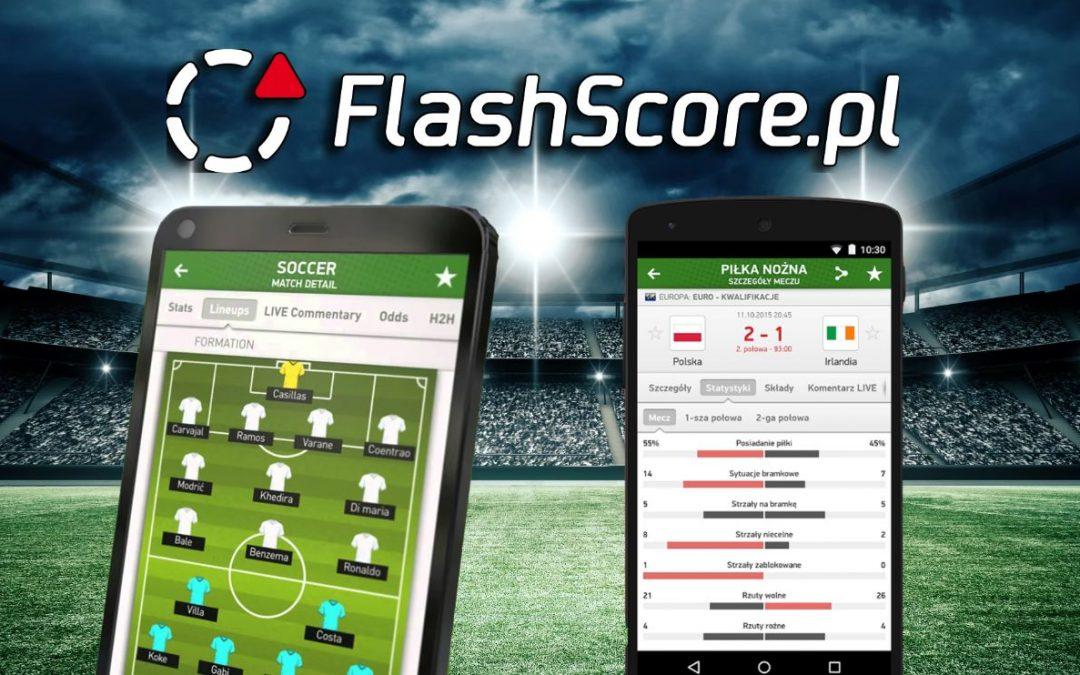 FlashScore.pl – aplikacja dla każdego kibica