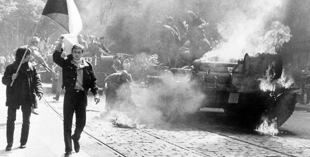 Interwencja wojsk Układu Warszawskiego. Rok 1968