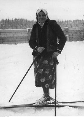 Bronisława Staszel-Polankowa - Biegi narciarskie historia