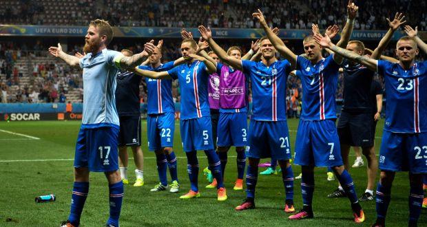Reprezentacja Islandii wpiłce nożnej awansowała naEuro 2016 iMistrzostwa Świata 2018