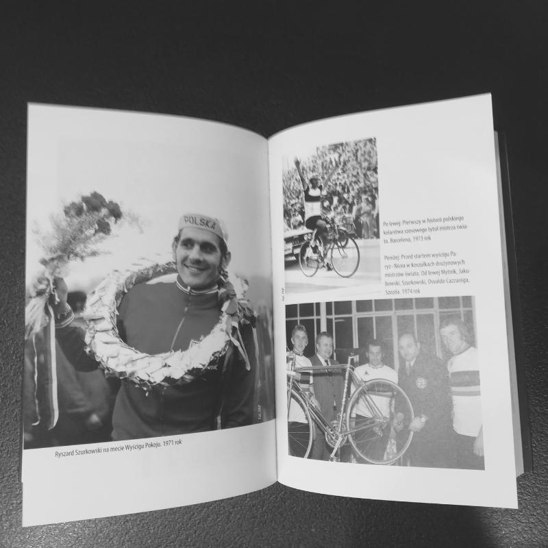 Książka jest wzbogacona licznymi fotografiami. Niektóre pochodzą zprywatnego archiwum Ryszarda Szurkowskiego