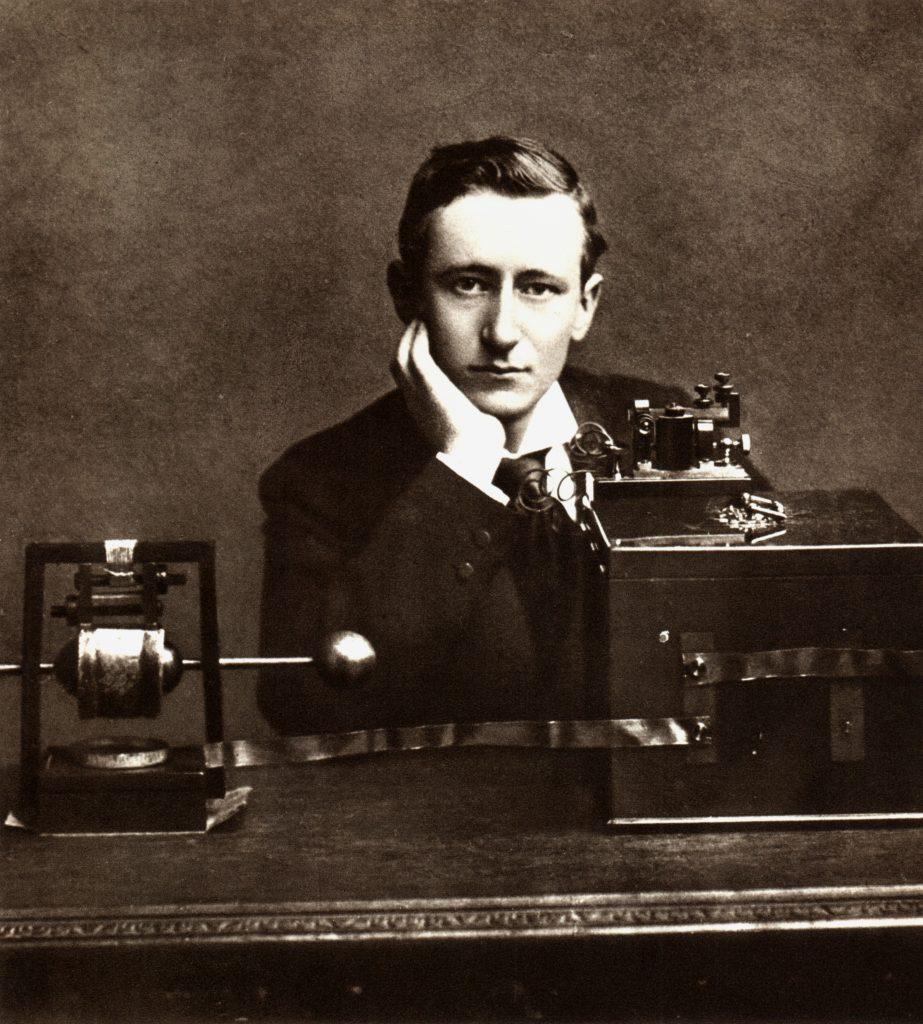 Guglielmo Marconi źródło: wikpedia.org