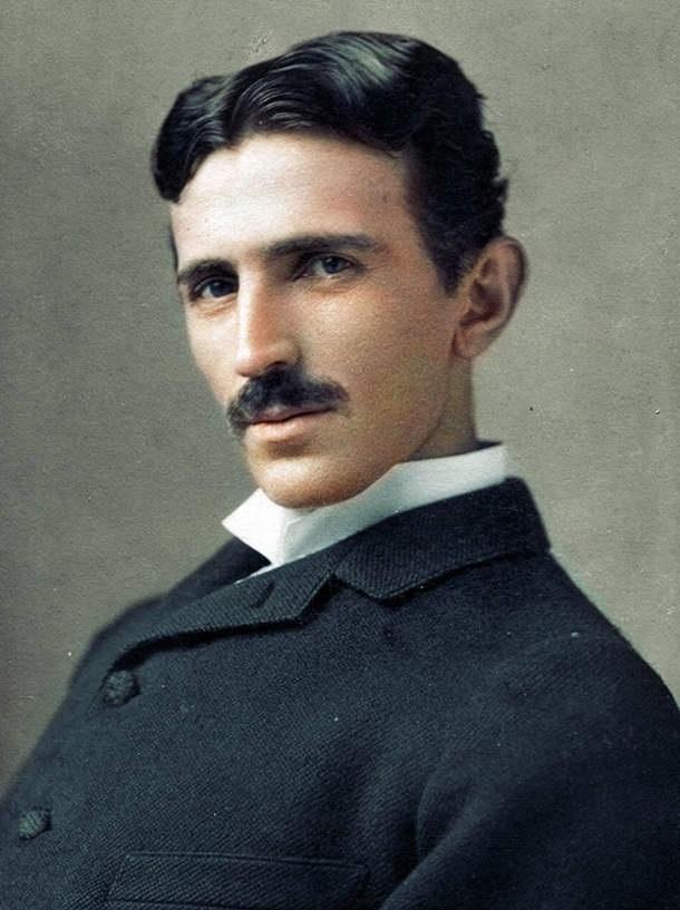 Nikola Tesla źródło: wikipedia.org