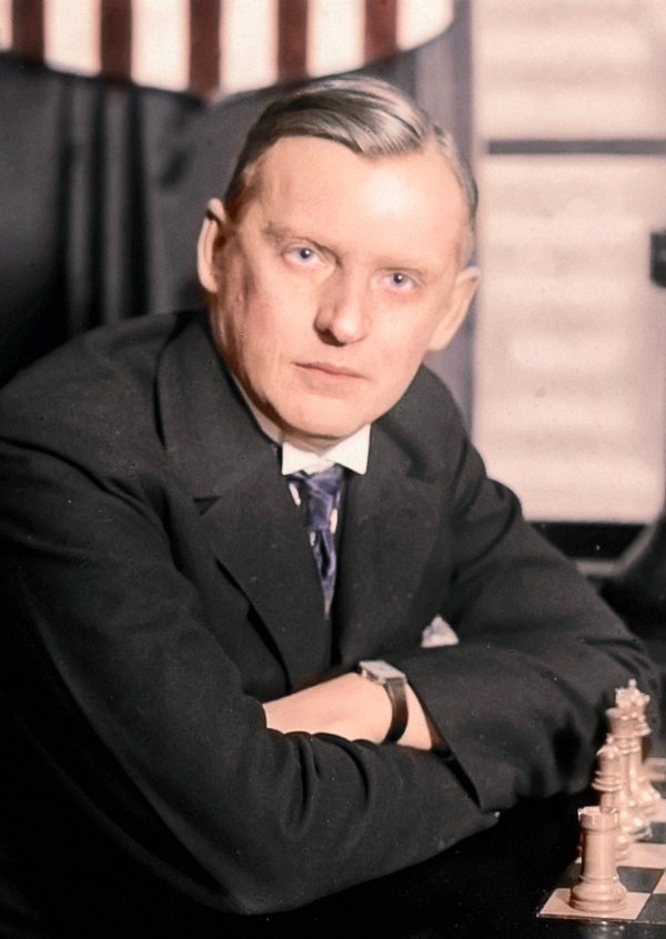 Aleksander Alechin źródło: wikipedia.org