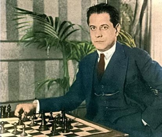 Jose Raul Capablanca źródło: https://miro.medium.com/