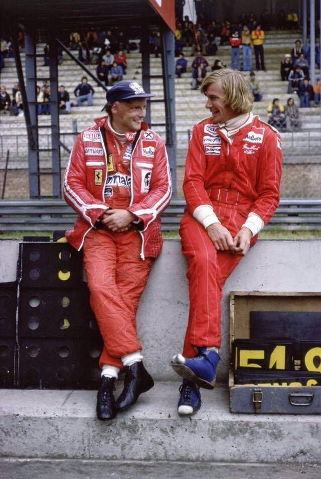 Niki Lauda i James Hunt