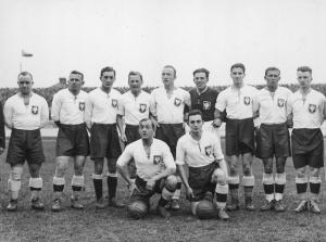 Reprezentacja Polski w1933 roku źródło: http://historiawisly.pl/