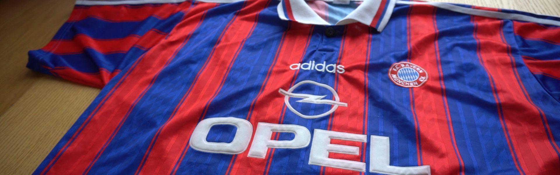 Koszulka Bayern 1995-1997