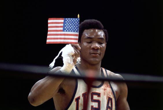 Nim George Foreman został mistrzem olimpijskim musiał pokonać Lucjana Trelę. Łatwo niebyło. źródło zdjęcia: pinterest.com