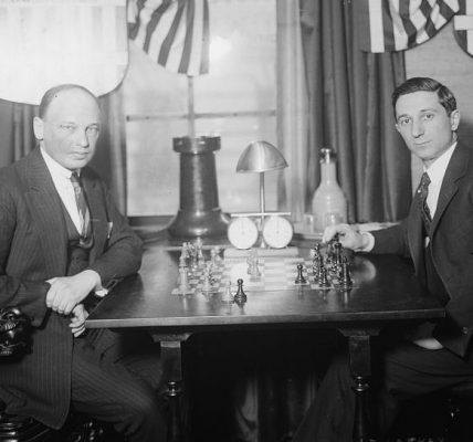 Ksawery Tartakower i Edward Lasker