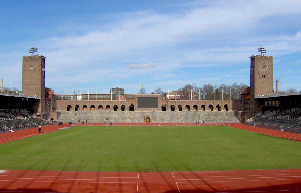 Stadion olimpijski wSztokholmie