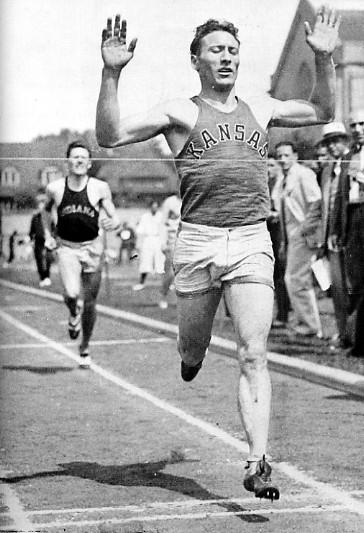 Glenn Cunningham w1933 roku/źródło: domena publiczna